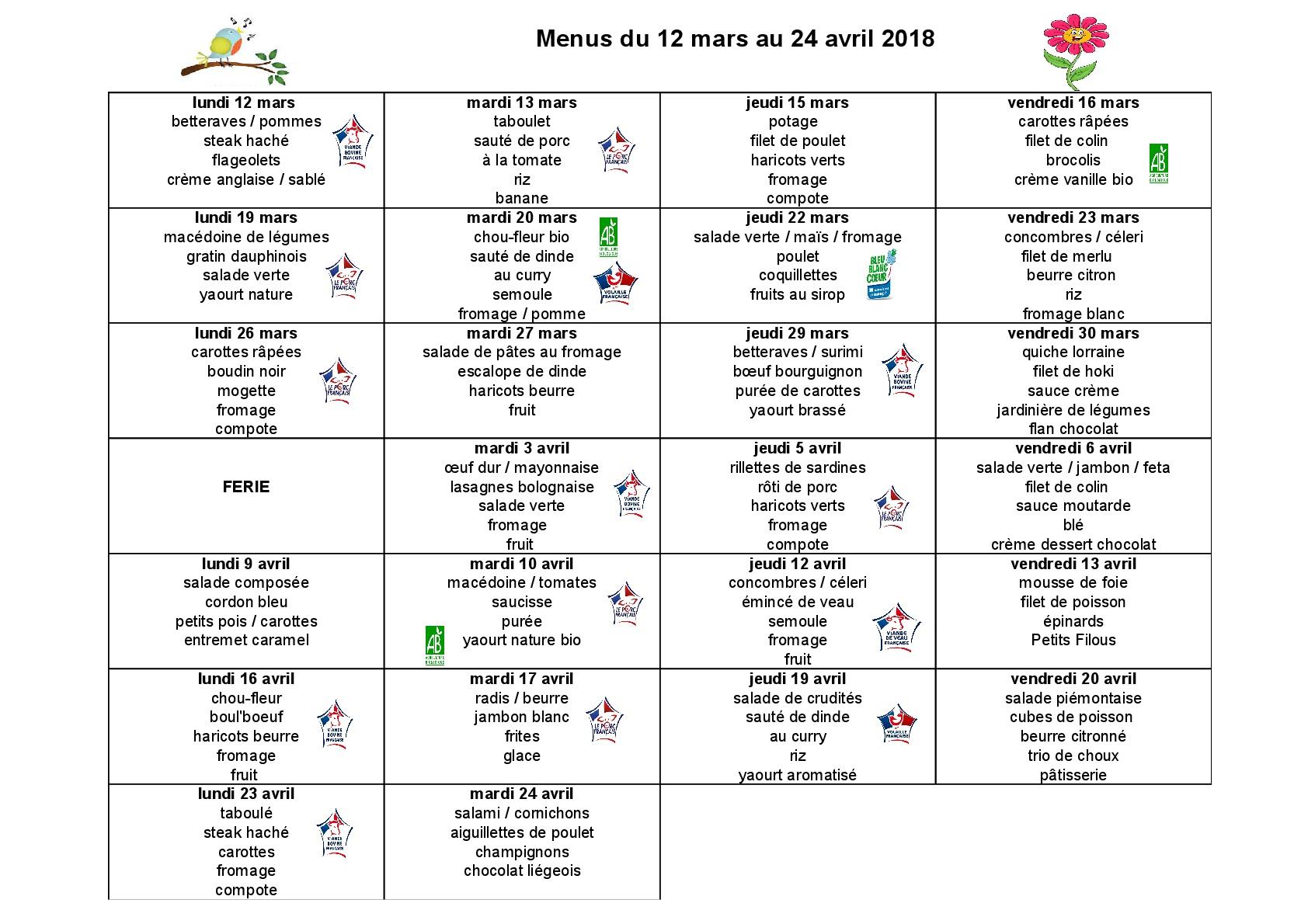 Menus cantine 12 mars au 24 avril 2018-001