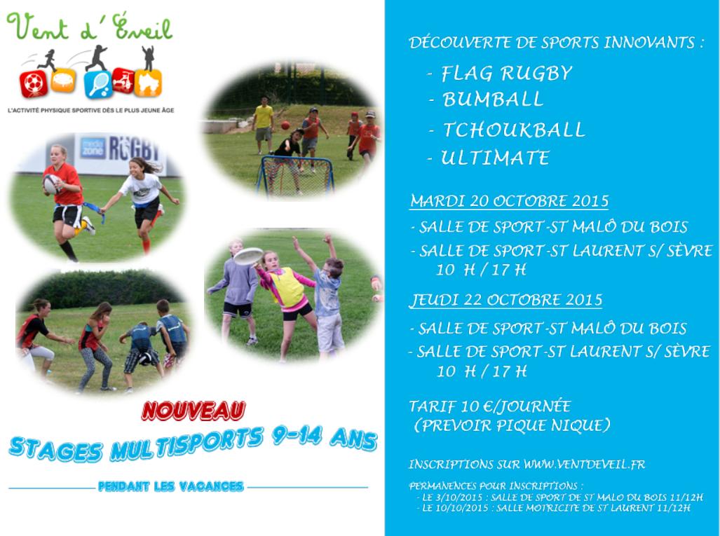 Vent d'éveil propose de faire découvrir des sports innovants à nos enfants  !