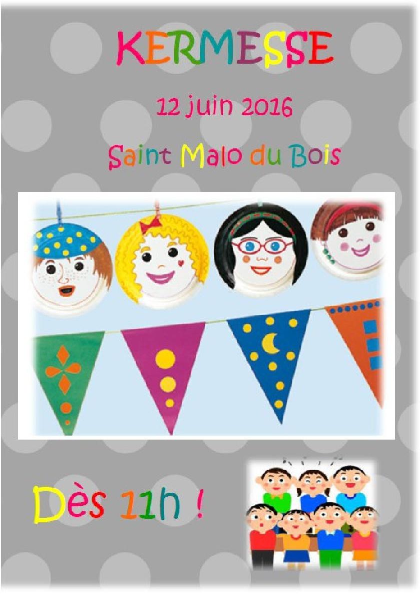 Le 12 Juin c'est la Kermesse de l'école !